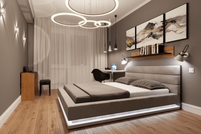 Дизайн-проект однокомнатной квартиры 38 м2
