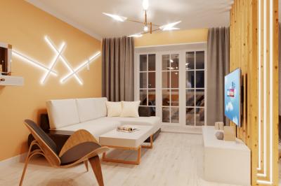 Дизайн-проект трёхкомнатной квартиры