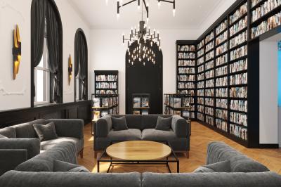 Дизайн-проект Модельной библиотеки в с. Усть-Кяхта, Республика Бурятия